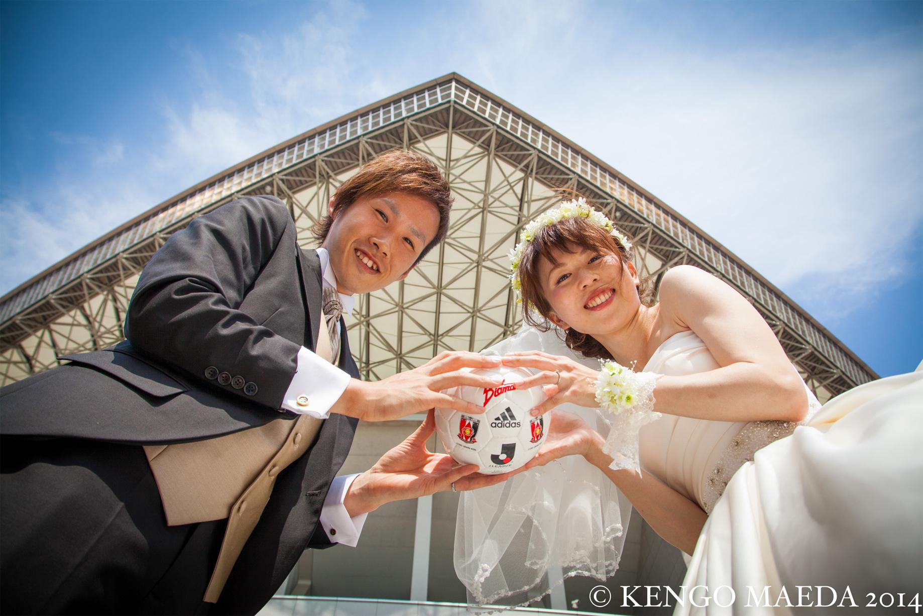 L-CLIP 結婚写真 お客様の声 H様夫妻 03