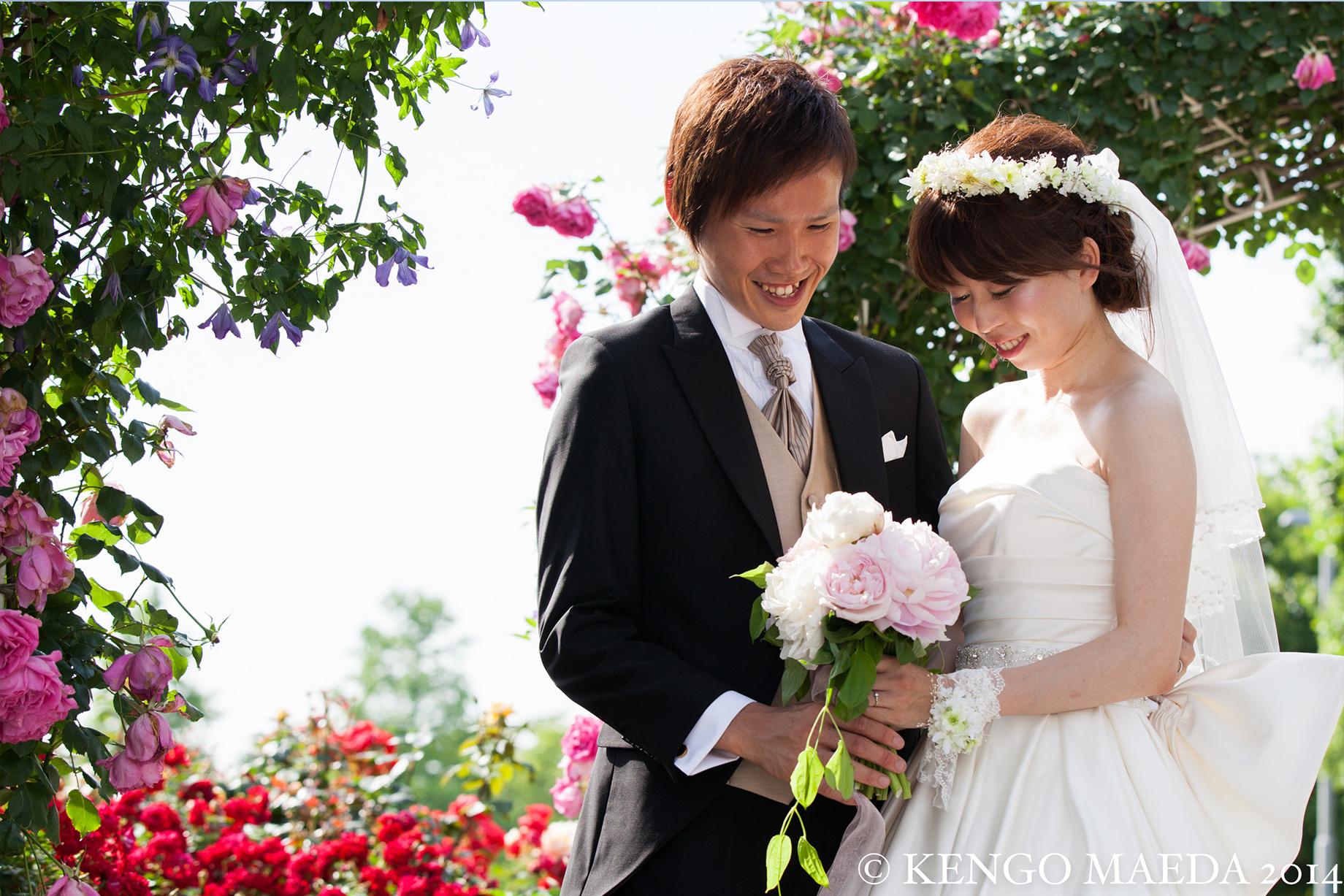 L-CLIP 結婚写真 お客様の声 H様夫妻 06