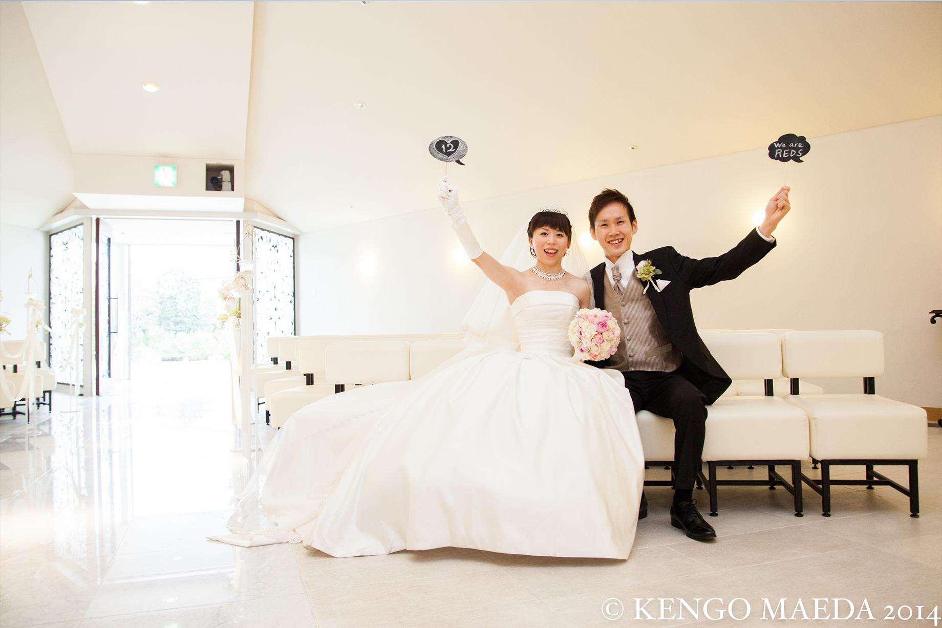 L-CLIP 結婚写真 お客様の声 H様夫妻 05