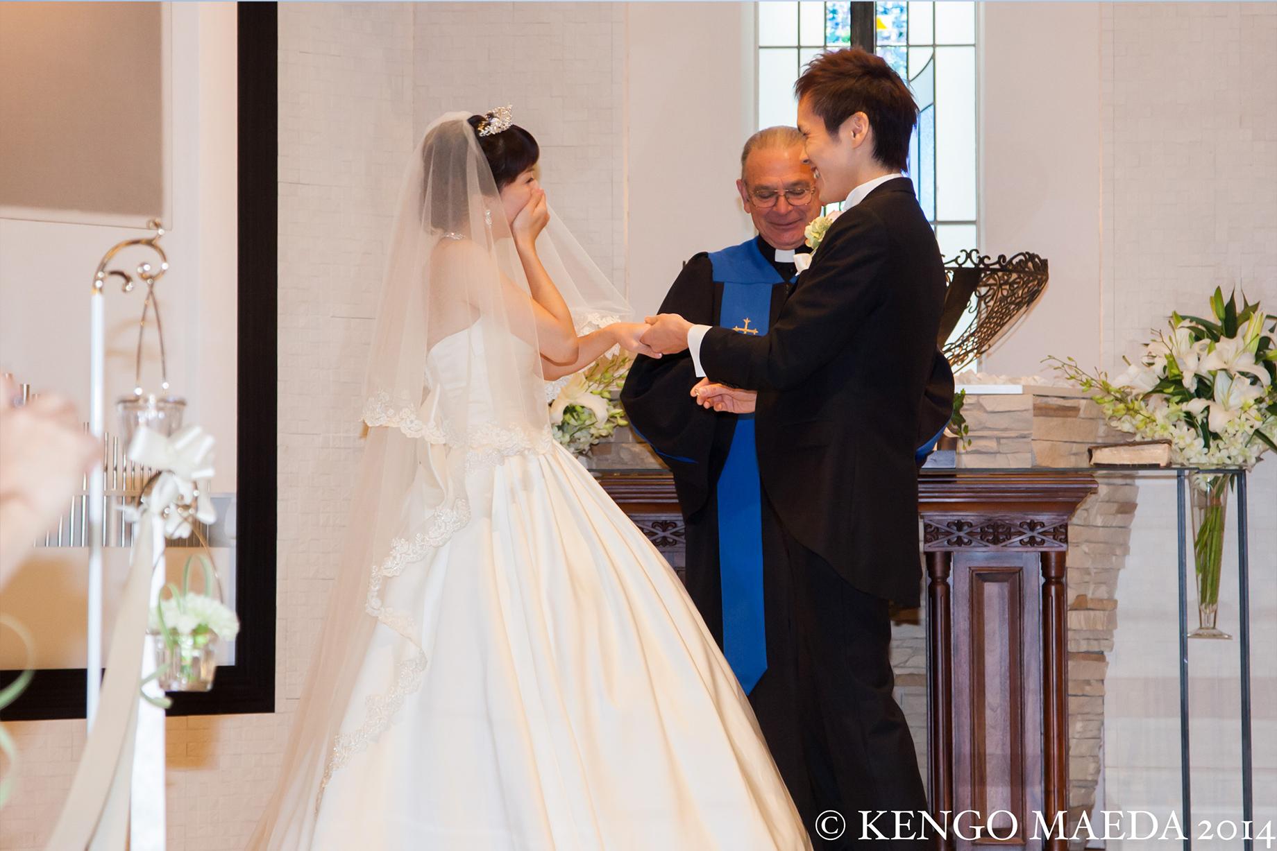 L-CLIP 結婚写真 お客様の声 H様夫妻 02